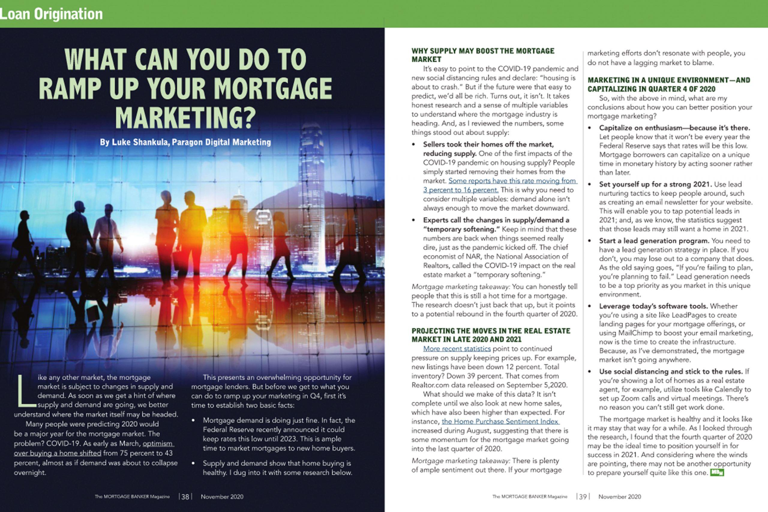 Mortgage Banker Magazine