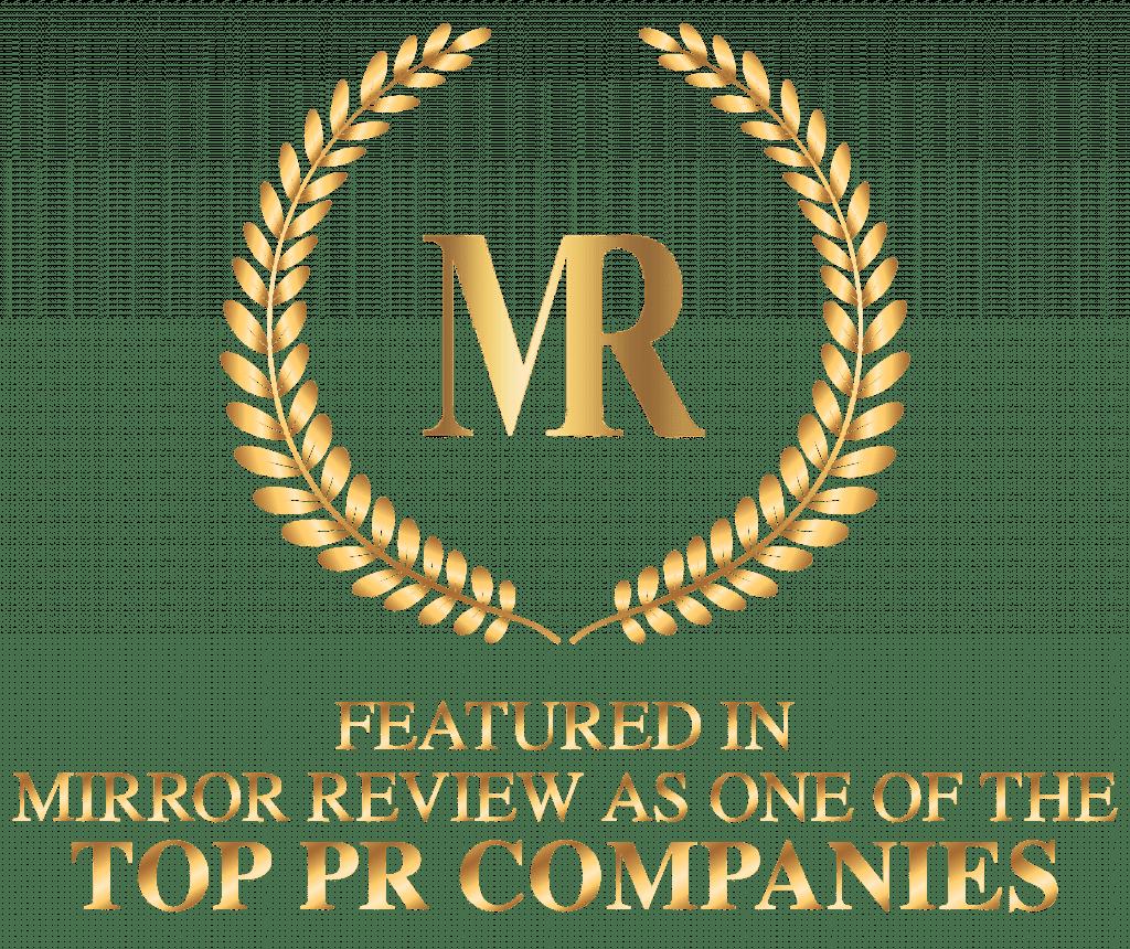 Victorious PR - Mirror Review Award