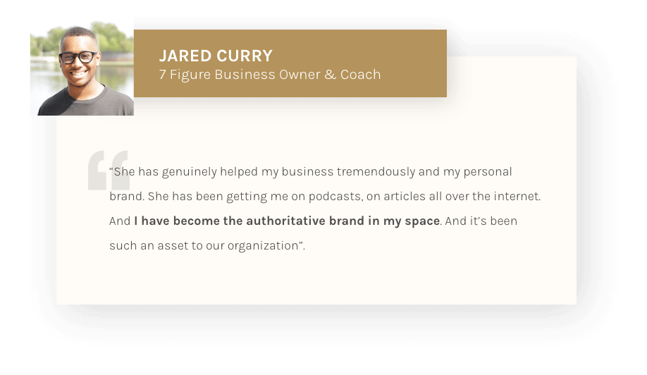 Jared Curry - Testimonial